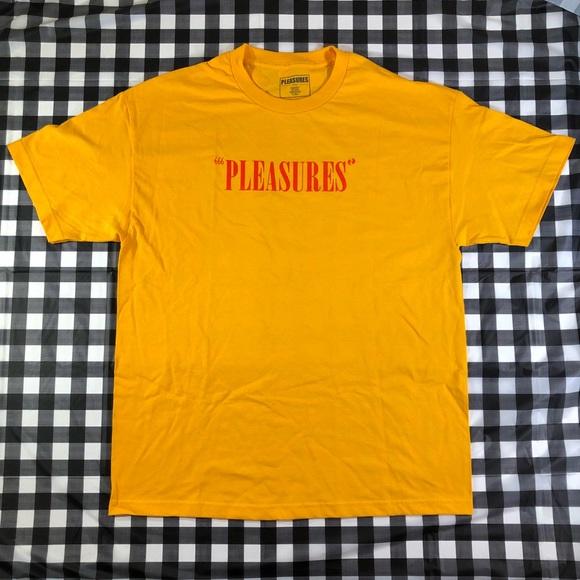 pleasures Other - Pleasures Now Mark Of The Beast Red Logo Tee 666